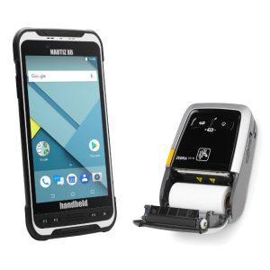 Parkraumsoftware Nautiz X6 Handheld Gerät