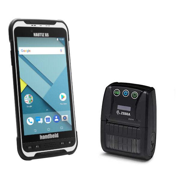 Nautiz X6 Eingabegerät für die Parkraumsoftware