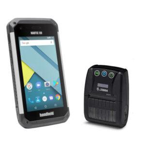 Nautiz X9 Eingabegerät für die Parkraumsoftware